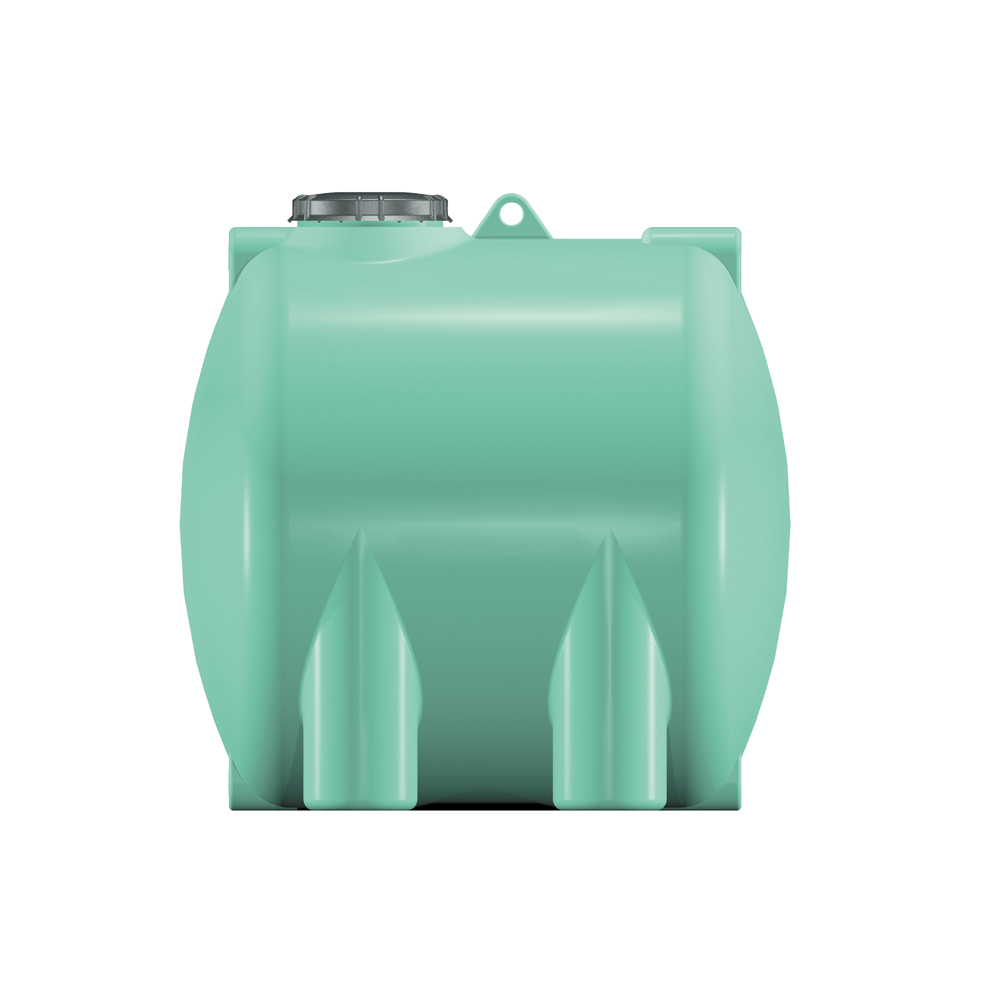 cisterna orizontale con